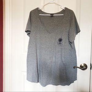 """Torrid """"Ride or Die"""" Shirt (Size: 2)"""